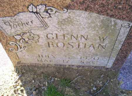 BOSTIAN, GLENN W. - Conway County, Arkansas | GLENN W. BOSTIAN - Arkansas Gravestone Photos