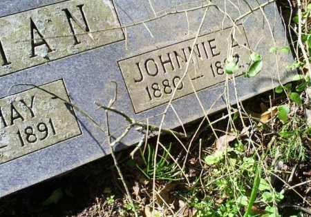 BOSTIAN, JOHNNIE A. - Conway County, Arkansas | JOHNNIE A. BOSTIAN - Arkansas Gravestone Photos