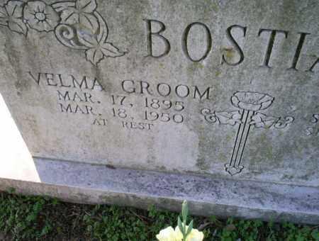 GROOM BOSTIAN, VELMA - Conway County, Arkansas   VELMA GROOM BOSTIAN - Arkansas Gravestone Photos