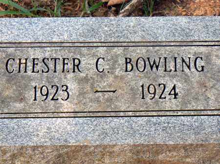 BOWLING, CHESTER C. - Conway County, Arkansas | CHESTER C. BOWLING - Arkansas Gravestone Photos