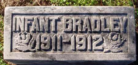 BRADLEY, INFANT - Conway County, Arkansas | INFANT BRADLEY - Arkansas Gravestone Photos