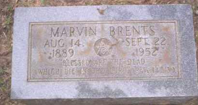 BRENTS, MARVIN - Conway County, Arkansas | MARVIN BRENTS - Arkansas Gravestone Photos