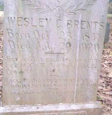 BRENTS, WESLEY C. - Conway County, Arkansas   WESLEY C. BRENTS - Arkansas Gravestone Photos