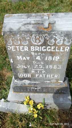 BRIGGELER, PETER - Conway County, Arkansas | PETER BRIGGELER - Arkansas Gravestone Photos