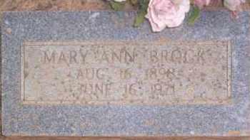 BROCK, MARY ANN - Conway County, Arkansas | MARY ANN BROCK - Arkansas Gravestone Photos