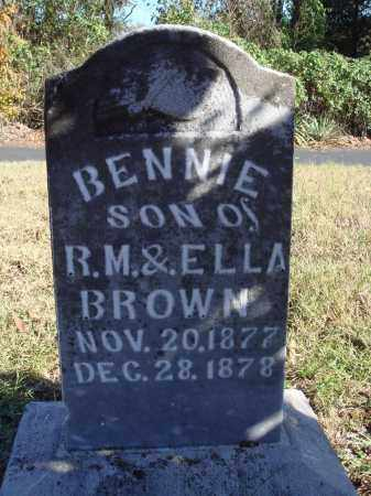 BROWN, BENNIE - Conway County, Arkansas   BENNIE BROWN - Arkansas Gravestone Photos