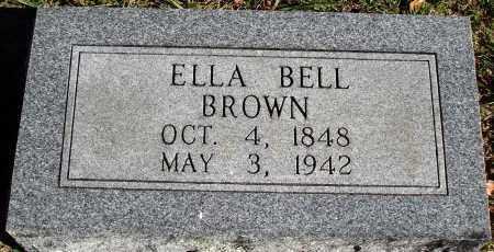 BROWN, ELLA BELL - Conway County, Arkansas | ELLA BELL BROWN - Arkansas Gravestone Photos