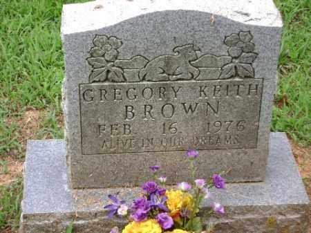 BROWN, GREGORY KEITH - Conway County, Arkansas   GREGORY KEITH BROWN - Arkansas Gravestone Photos