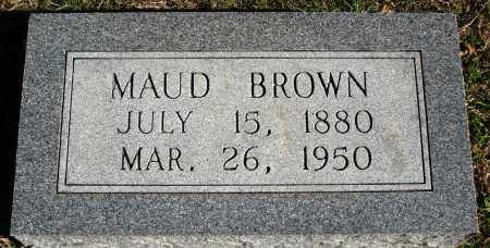 BROWN, MAUD - Conway County, Arkansas | MAUD BROWN - Arkansas Gravestone Photos