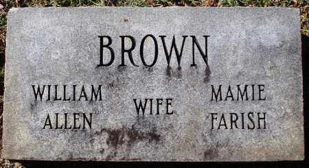 BROWN, MAMIE - Conway County, Arkansas | MAMIE BROWN - Arkansas Gravestone Photos