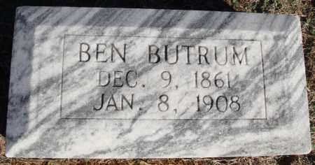 BUTRUM, BEN - Conway County, Arkansas | BEN BUTRUM - Arkansas Gravestone Photos