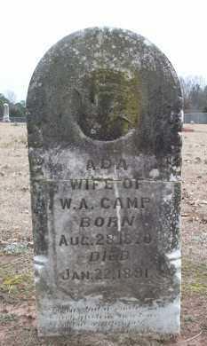 CAMP, ADA - Conway County, Arkansas | ADA CAMP - Arkansas Gravestone Photos