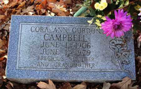 GORDON CAMPBELL, CORA ANN - Conway County, Arkansas | CORA ANN GORDON CAMPBELL - Arkansas Gravestone Photos