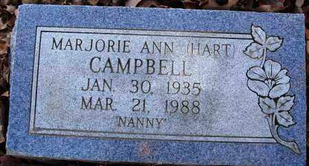 CAMPBELL, MARJORIE ANN - Conway County, Arkansas | MARJORIE ANN CAMPBELL - Arkansas Gravestone Photos
