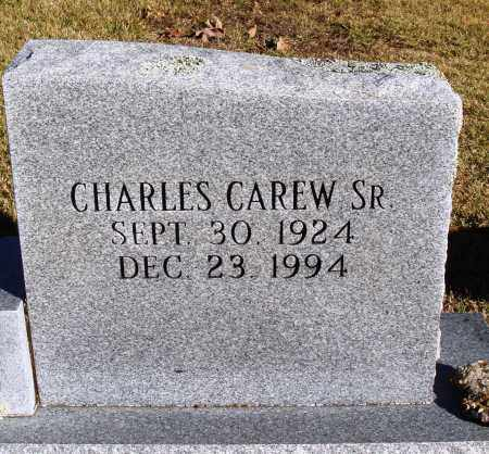 CAREW SR., CHARLES - Conway County, Arkansas   CHARLES CAREW SR. - Arkansas Gravestone Photos