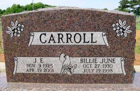 CARROLL, J E - Conway County, Arkansas | J E CARROLL - Arkansas Gravestone Photos