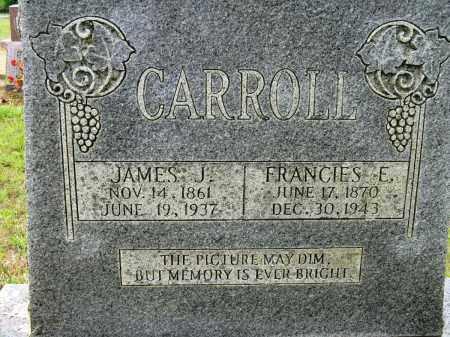 CARROLL, JAMES J - Conway County, Arkansas | JAMES J CARROLL - Arkansas Gravestone Photos