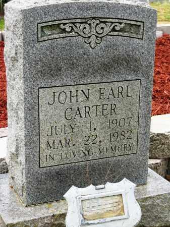 CARTER, JOHN EARL - Conway County, Arkansas | JOHN EARL CARTER - Arkansas Gravestone Photos
