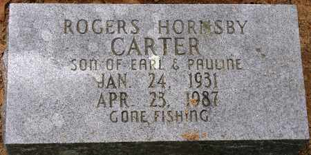 CARTER, ROGERS HORNSBY - Conway County, Arkansas | ROGERS HORNSBY CARTER - Arkansas Gravestone Photos