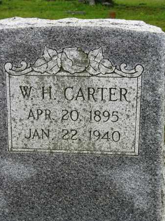 CARTER, W H - Conway County, Arkansas   W H CARTER - Arkansas Gravestone Photos