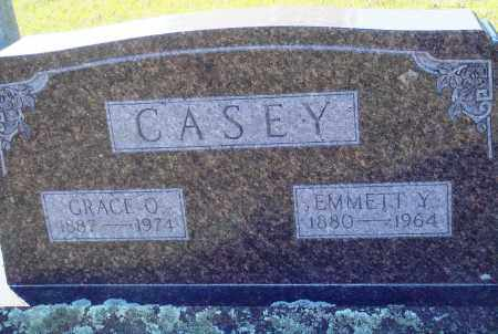 CASEY, EMMETT Y. - Conway County, Arkansas | EMMETT Y. CASEY - Arkansas Gravestone Photos