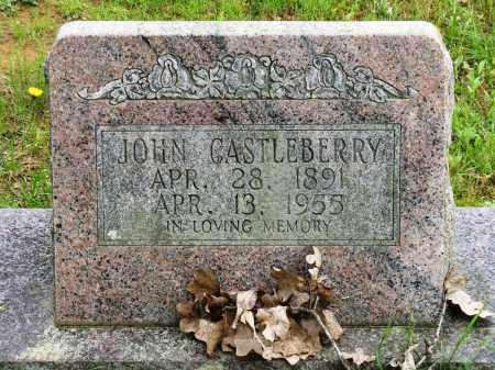CASTLEBERRY, JOHN - Conway County, Arkansas | JOHN CASTLEBERRY - Arkansas Gravestone Photos