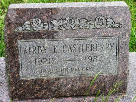 CASTLEBERRY, KIRBY E - Conway County, Arkansas | KIRBY E CASTLEBERRY - Arkansas Gravestone Photos