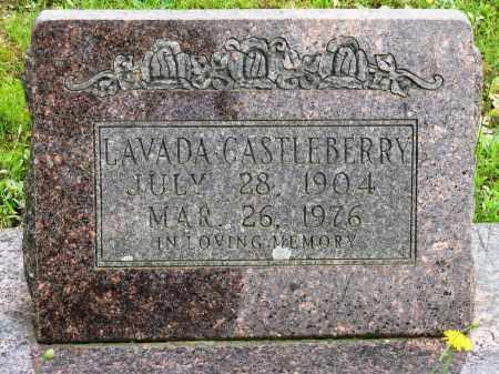 CASTLEBERTTY, LAVADA - Conway County, Arkansas   LAVADA CASTLEBERTTY - Arkansas Gravestone Photos
