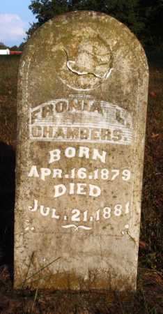 CHAMBERS, FRONIA L. - Conway County, Arkansas | FRONIA L. CHAMBERS - Arkansas Gravestone Photos
