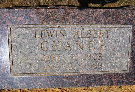 CHANCE, LEWIS ALBERT - Conway County, Arkansas | LEWIS ALBERT CHANCE - Arkansas Gravestone Photos