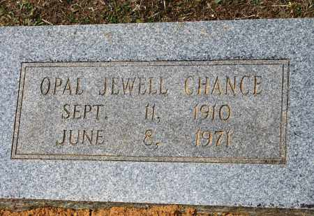 CHANCE, OPAL JEWELL - Conway County, Arkansas | OPAL JEWELL CHANCE - Arkansas Gravestone Photos