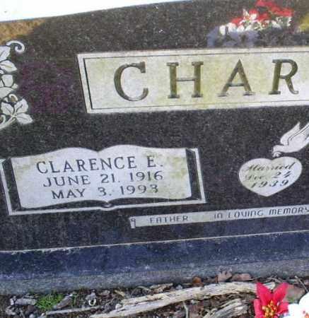 CHARTON, CLARENCE E. - Conway County, Arkansas | CLARENCE E. CHARTON - Arkansas Gravestone Photos