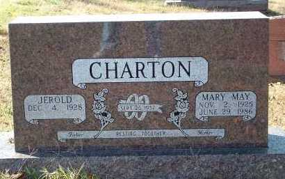CHARTON, MARY MAY - Conway County, Arkansas | MARY MAY CHARTON - Arkansas Gravestone Photos