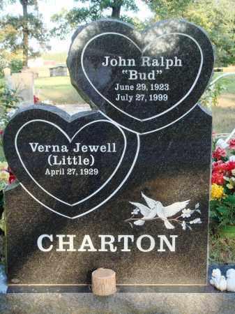 "CHARTON, JOHN RALPH ""BUD"" - Conway County, Arkansas   JOHN RALPH ""BUD"" CHARTON - Arkansas Gravestone Photos"
