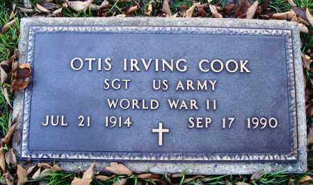 COOK  (VETERAN WWII), OTIS IRVING - Conway County, Arkansas | OTIS IRVING COOK  (VETERAN WWII) - Arkansas Gravestone Photos