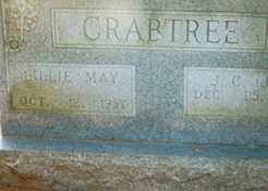 TUCKER CRABTREE, LILLIE MAY - Conway County, Arkansas | LILLIE MAY TUCKER CRABTREE - Arkansas Gravestone Photos