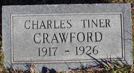 CRAWFORD, CHARLES TINER - Conway County, Arkansas   CHARLES TINER CRAWFORD - Arkansas Gravestone Photos