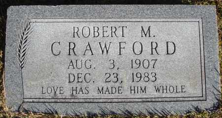 CRAWFORD, ROBERT M. - Conway County, Arkansas | ROBERT M. CRAWFORD - Arkansas Gravestone Photos
