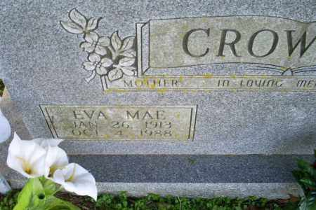 CROWDER, EVA MAE - Conway County, Arkansas | EVA MAE CROWDER - Arkansas Gravestone Photos