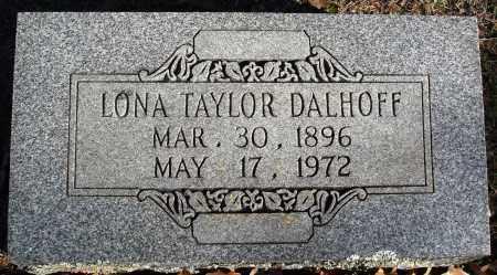 DALHOFF, LONA - Conway County, Arkansas | LONA DALHOFF - Arkansas Gravestone Photos