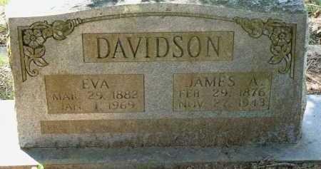 DAVIDSON, JAMES A. - Conway County, Arkansas | JAMES A. DAVIDSON - Arkansas Gravestone Photos