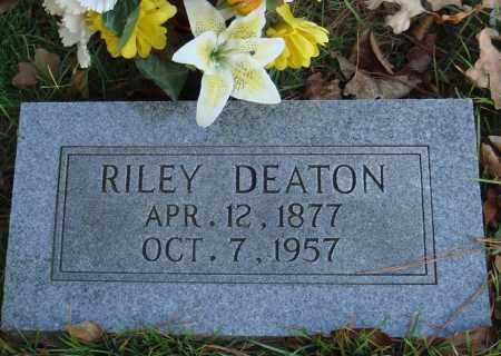 DEATON, RILEY - Conway County, Arkansas   RILEY DEATON - Arkansas Gravestone Photos