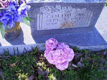 DENHAM, GOLDIE M. - Conway County, Arkansas | GOLDIE M. DENHAM - Arkansas Gravestone Photos
