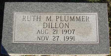 PLUMMER DILLON, RUTH M. - Conway County, Arkansas | RUTH M. PLUMMER DILLON - Arkansas Gravestone Photos