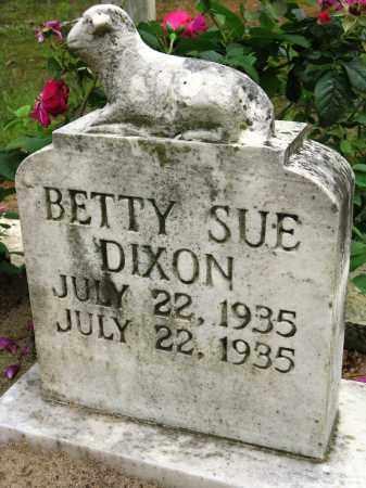 DIXON, BETTY SUE - Conway County, Arkansas   BETTY SUE DIXON - Arkansas Gravestone Photos