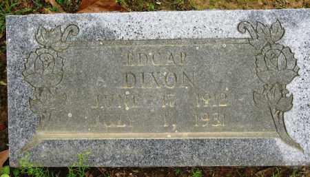 DIXON, EDGAR - Conway County, Arkansas | EDGAR DIXON - Arkansas Gravestone Photos