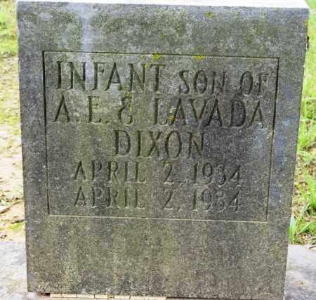 DIXON, INFANT SON - Conway County, Arkansas | INFANT SON DIXON - Arkansas Gravestone Photos