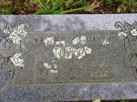 DIXON, JAMES ORVILLE - Conway County, Arkansas | JAMES ORVILLE DIXON - Arkansas Gravestone Photos