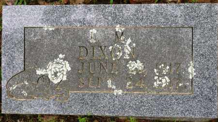 DIXON, L M - Conway County, Arkansas   L M DIXON - Arkansas Gravestone Photos
