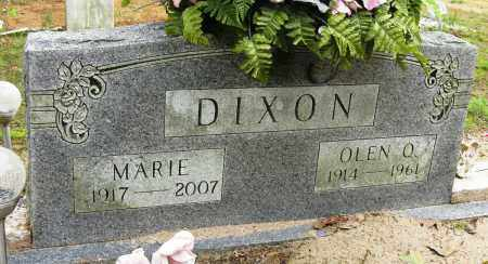 DIXON, OLEN O - Conway County, Arkansas | OLEN O DIXON - Arkansas Gravestone Photos